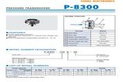 COPAL P-8300-501G型压力传感器 说明书