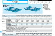 COSEL科索SFS30模块电源说明书