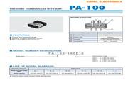 COPAL PA-500 压力传感器 手册