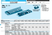COSEL科索LEA50F模块电源产品说明书
