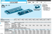 COSEL科索LEA75F模块电源产品说明书