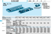 COSEL科索LEA150F模块电源产品说明书