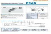 COPAL PS60 压力传感器 使用说明书