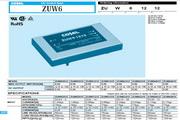 COSEL科索ZUW1R25模块电源产品说明书