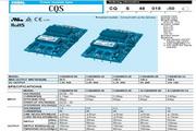 COSEL科索CQS48050-28模块电源产品说明书