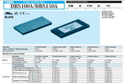 COSEL科索DBS200B07模块电源产品说明书