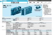 COSEL科索PBW50F-12模块电源产品说明书