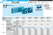COSEL科索PAA100F-3模块电源产品说明书