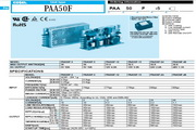 COSEL科索PAA75F-3模块电源产品说明书