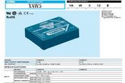 COSEL科索YAW512模块电源产品说明书