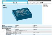 COSEL科索YS505A模块电源产品说明书
