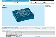 COSEL科索YW512A模块电源产品说明书