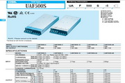 COSEL科索UAF500S-3模块电源产品说明书