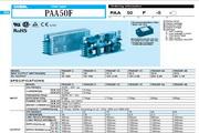 COSEL科索PAA600F-3模块电源产品说明书