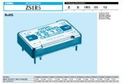 COSEL科索ZS1R5系列模块电源产品说明书