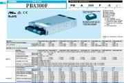 COSEL科索PBA300F模块电源产品说明书