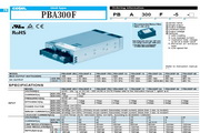 COSEL科索PBA600F模块电源产品说明书