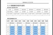 索肯和平HPI6002T-022GB型变频器使用说明书