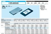 COSEL科索CDS500-600模块电源产品说明书