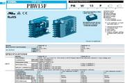 COSEL科索PBW15F-12模块电源产品说明书