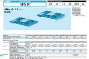 COSEL科索SFS15241R5模块电源产品说明书