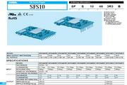 COSEL科索SFS15481R5模块电源产品说明书