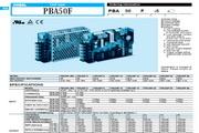 科索COSELPBA系列开关电源产品说明书