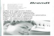 法國白朗 CMB700X嵌入式全自动咖啡机 英文说明书