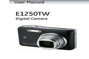 GE通用 E1250TW数码相机 说明书