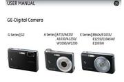 GE通用 W1200数码相机 说明书