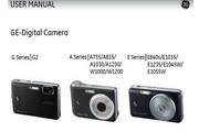 GE通用 W1000数码相机 说明书