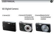 GE通用 E1055W数码相机 说明书