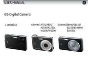 GE通用 E1045W数码相机 说明书