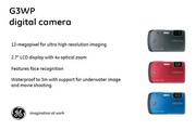GE通用 G3WP数码相机 说明书