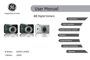 GE通用 J1455数码相机 说明书