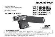 三洋 VPC-CA100TA数码摄像机 使用说明书