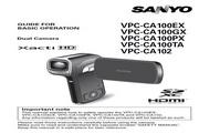 三洋 VPC-CA100GX数码摄像机 使用说明书