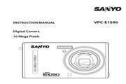 三洋 VPC-E1090数码相机 使用说明书