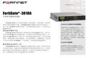 FORTINET Fortigate 3810A万兆多功能安全设备说明书