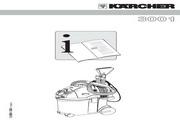 凯驰 se3001喷抽式地毯喷抽式吸尘吸水机 使用手册