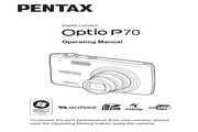 宾得Optio P70数码相机 使用说明书