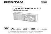 宾得Optio NB1000数码相机 使用说明书