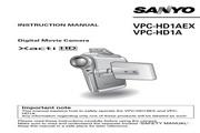 三洋 VPC-HD1A数码相机 使用说明书