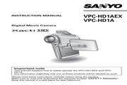 三洋 VPC-HD1AEX数码相机 使用说明书