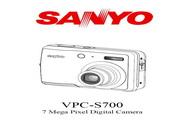 三洋 VPC-S700数码相机 使用说明书
