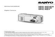 三洋 VPC-AZ1数码相机 使用说明书