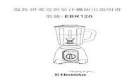 伊莱克斯 EBR120多功能冰沙果汁机 说明书