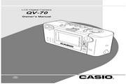 卡西欧 QV-70数码相机 使用说明书