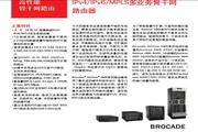BROCADE NETIRON XMR16000多业务骨干网路由器说明书