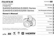 富士FinePix S3400数码相机 使用说明书